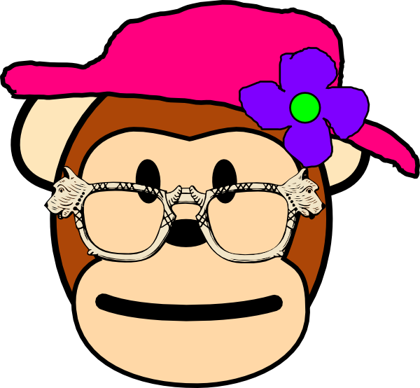 Mommy clipart monkey #12