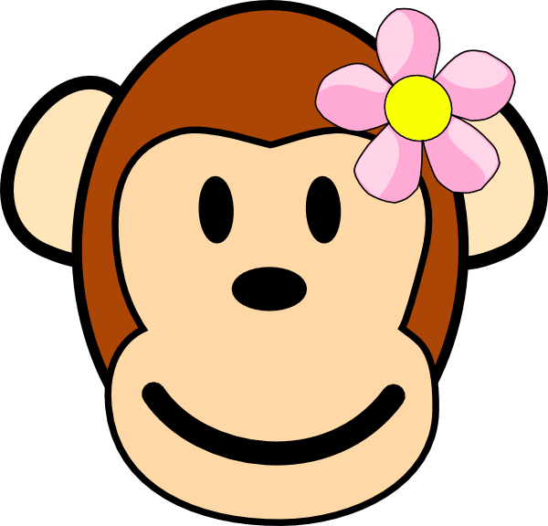 Mommy clipart monkey #10