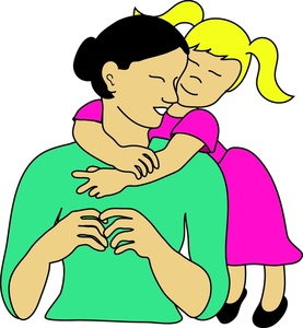 Mommy clipart mother daughter Image Daughter Clipart And collection