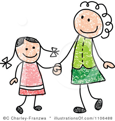 Mommy clipart mother daughter Panda Clipart Clipart Mother Clipart