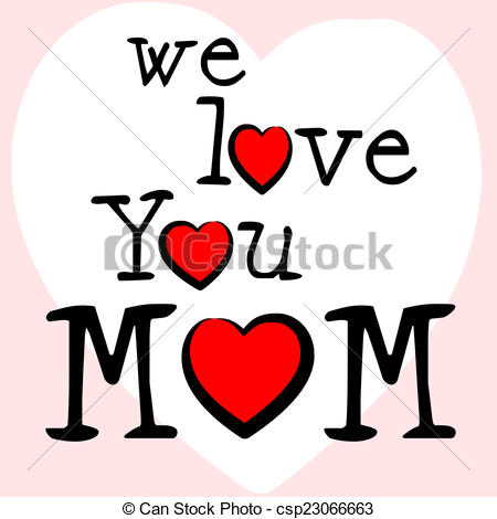 Mommy clipart mummy Stock Love Means Mom Mothers