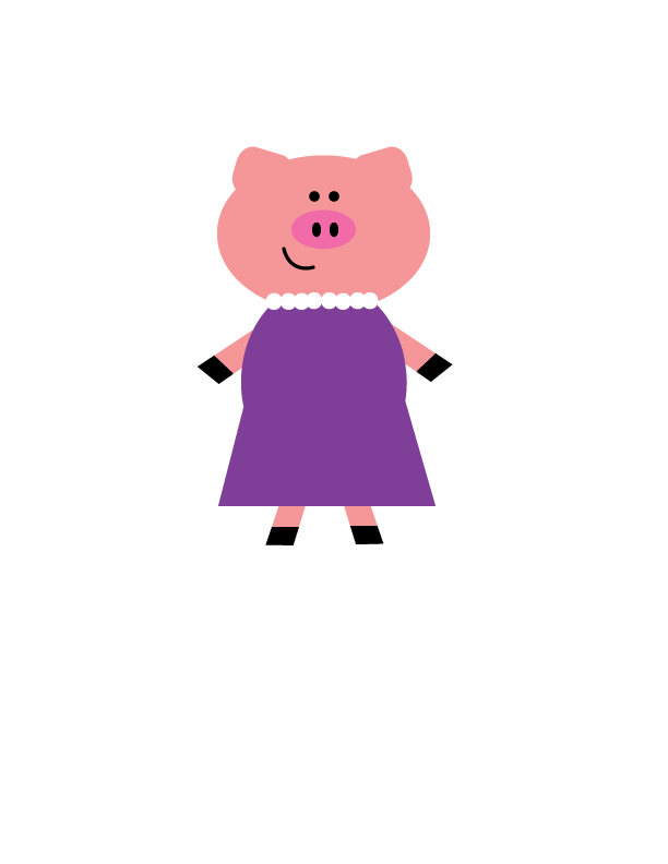 Mommy clipart pig #5