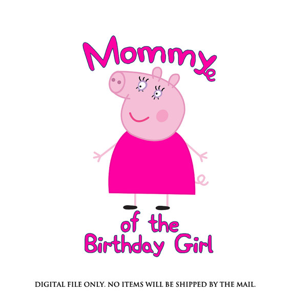 Mommy clipart pig #13
