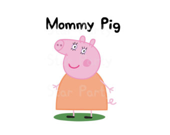 Mommy clipart pig #10