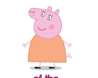 Mommy clipart pig #9