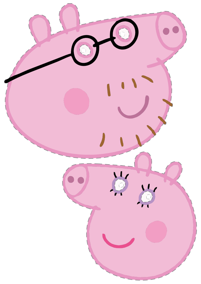 Mommy clipart pig #7