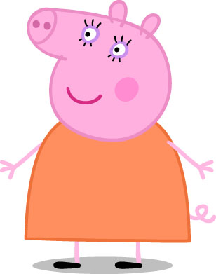 Mommy clipart pig #12