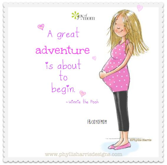 Mommy clipart pregnant mom #12