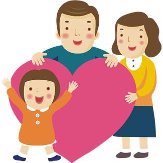 Kisses clipart parent child Parents  clipart Respect