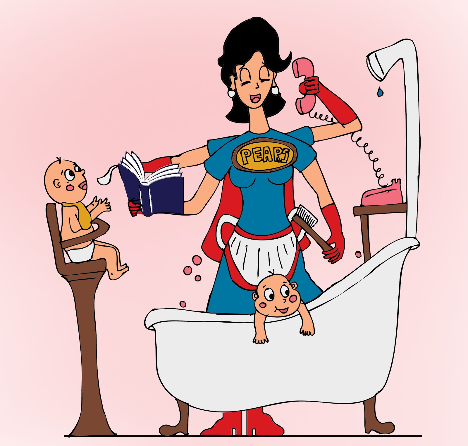 Mommy clipart supe woman #4