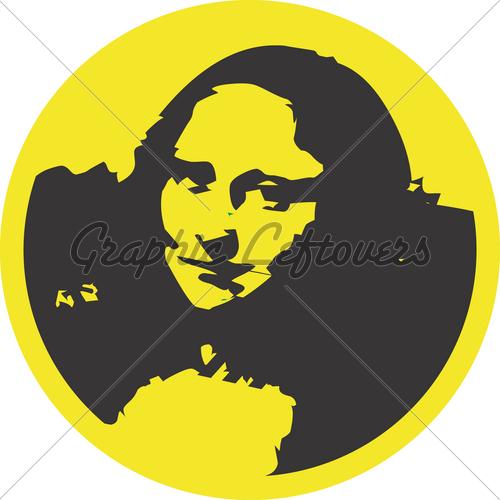 Mona Lisa clipart GL Images Clipart Design Monalisa