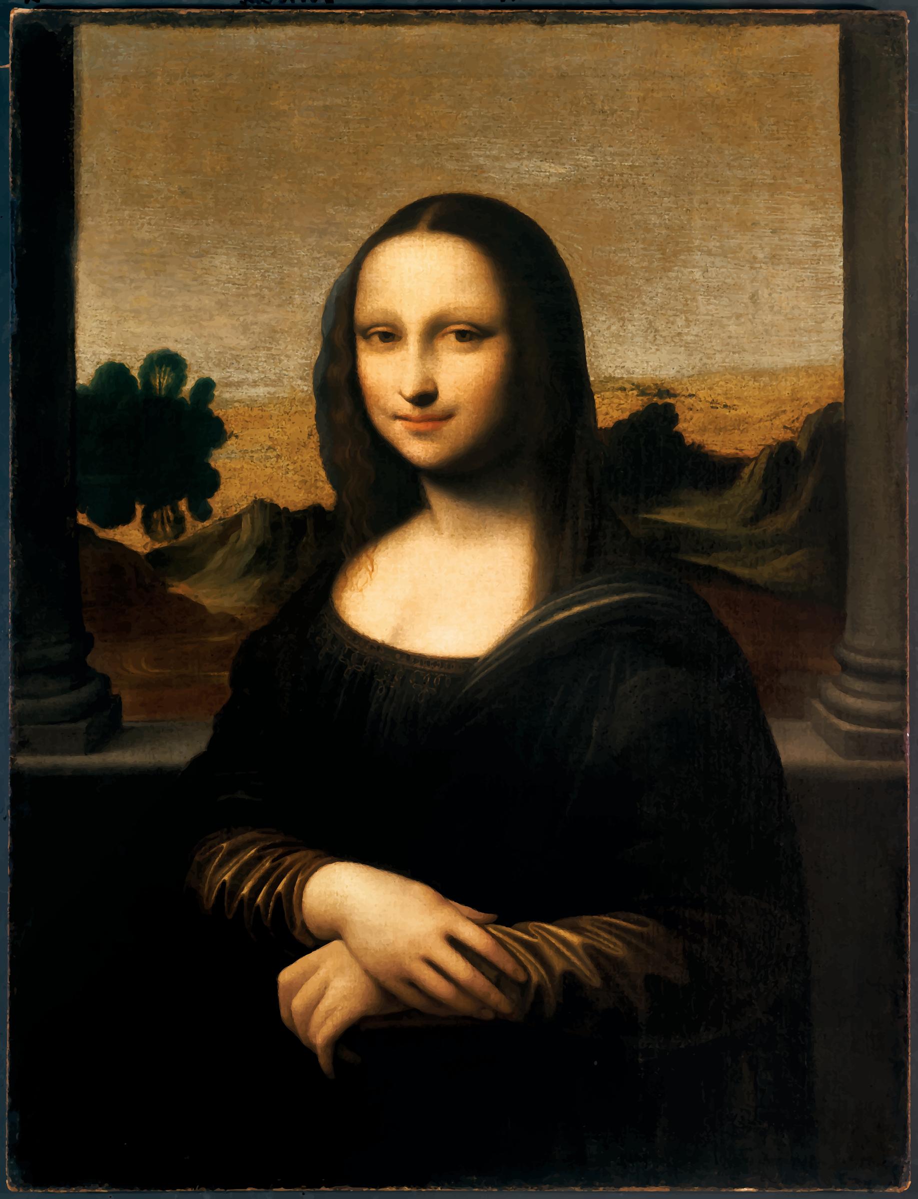 Renaissance clipart mona lisa #11