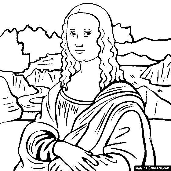 Mona Lisa clipart Lisa on Vinci Mona Leonardo