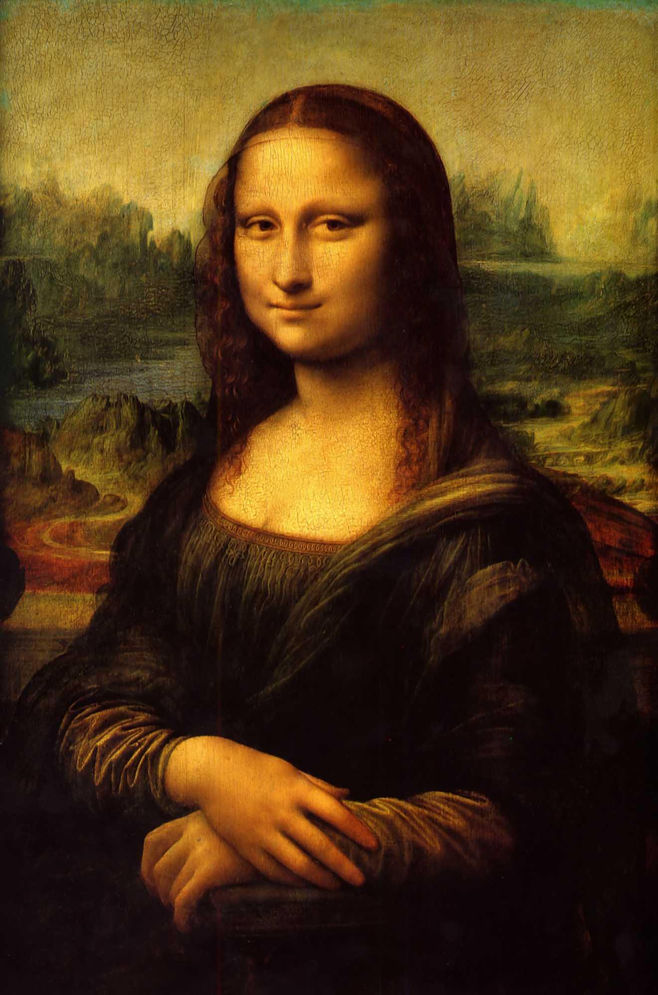 Renaissance clipart mona lisa #13