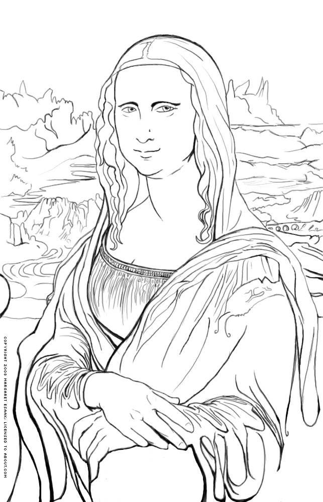 Mona Lisa clipart 25+ lisa  on ideas