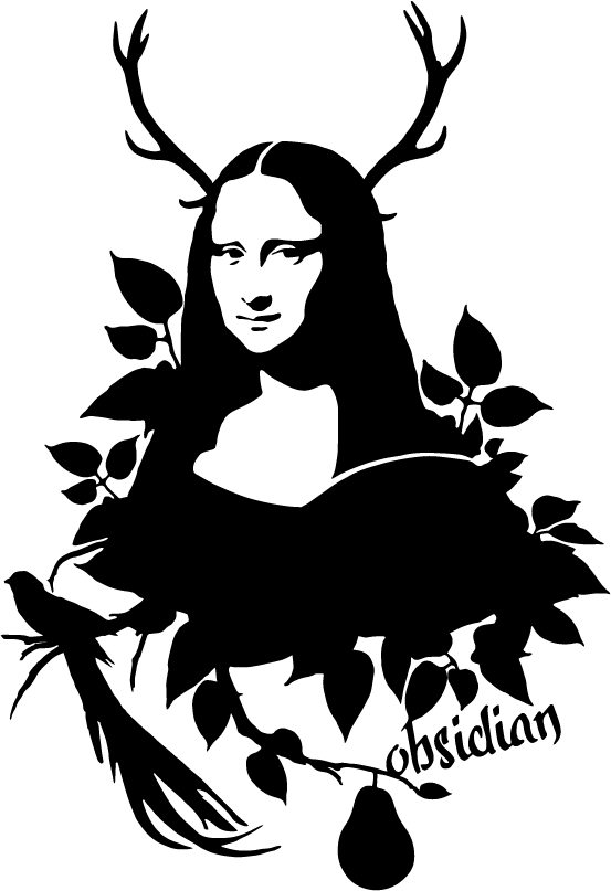 Mona Lisa clipart cartoon Mona on Behance Stencil