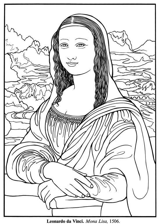 Renaissance clipart mona lisa Color: Botticelli 60 Paintings to