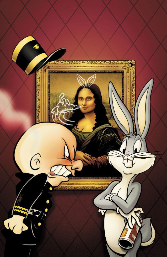 Mona Lisa clipart cartoon Lisa and [Scott Gross] Looney