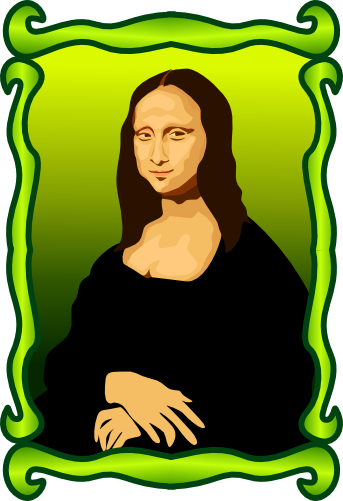 Mona Lisa clipart cartoon Mona lisa (343×501) Art lisa