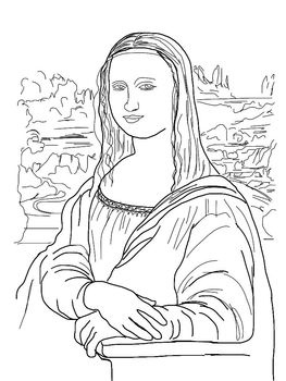 Renaissance clipart mona lisa #9