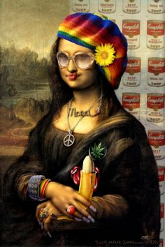 Mona Lisa clipart moni Soul with gifted naive and