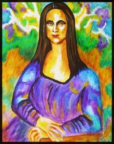 Mona Lisa clipart moni / Lisa naive with gifted
