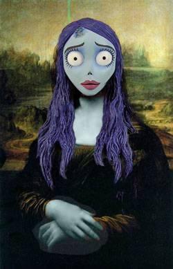 Mona Lisa clipart moni Cadáver Mona moni Pinterest moni