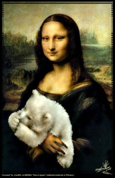 Mona Lisa clipart moni Are and a young of