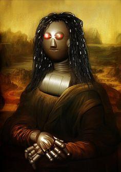 Mona Lisa clipart moni / young of a fantasies