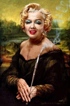 Mona Lisa clipart moni Lisa with gifted naive and