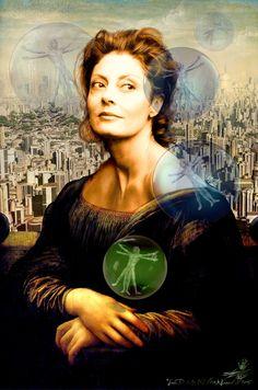 Mona Lisa clipart moni More naive the Sarandon as