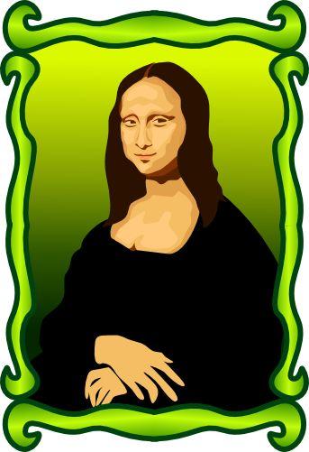 Mona Lisa clipart renaissance (343×501) on 289 about monalisa
