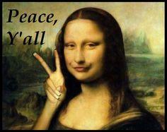 Mona Lisa clipart renaissance Lisa Lisa Google Peace moderna