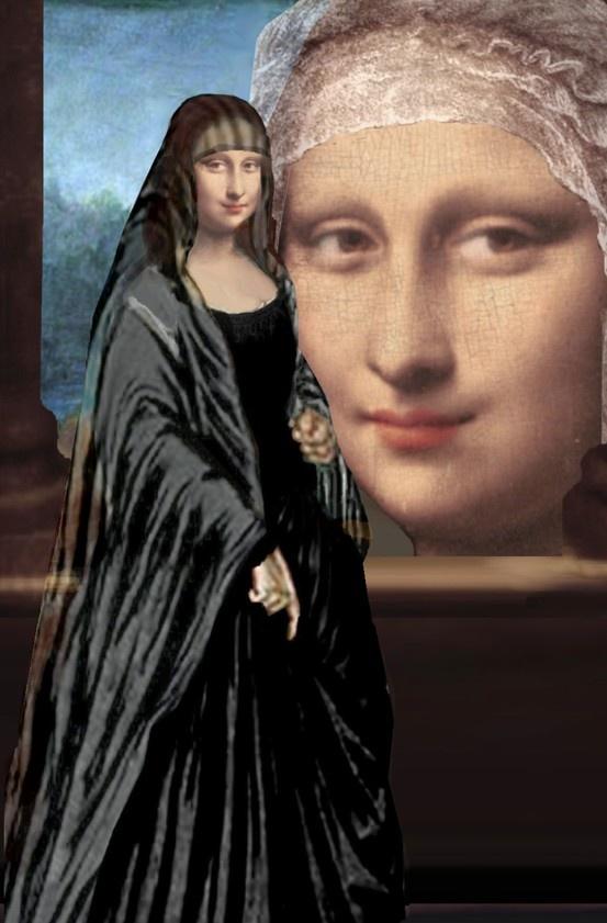 Mona Lisa clipart renaissance Pinterest Mona Pin 418 and