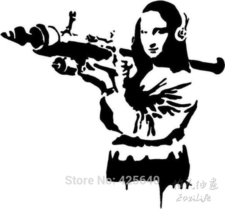 Mona Lisa clipart street art Online living  Oil Prices