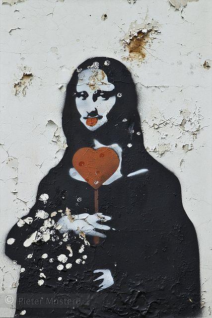 Mona Lisa clipart street art Pinterest Art Best on Mona