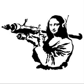 Mona Lisa clipart street art Clipart art mona graffiti Lisa