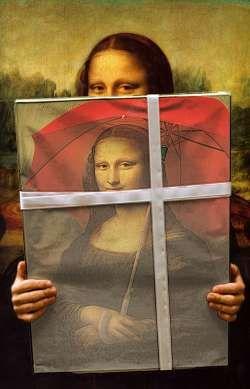 Mona Lisa clipart street art On Pinterest Street images 389