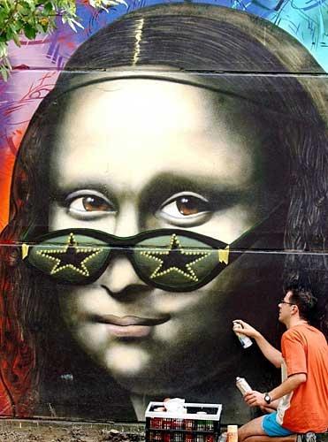 Mona Lisa clipart street art Lisa 657 Pinterest about best