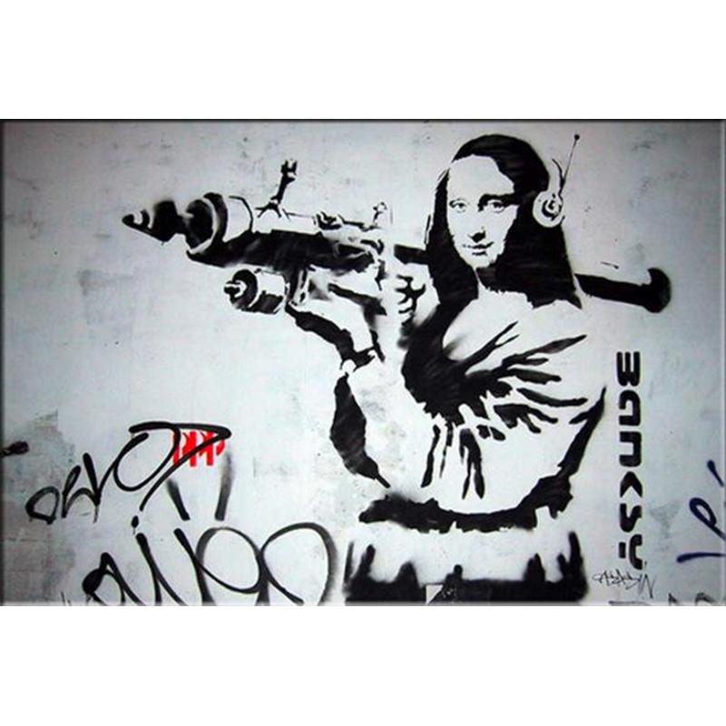 Mona Lisa clipart street art On Art room Street