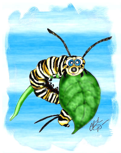 Monarch Butterfly clipart caterpillar butterfly #14