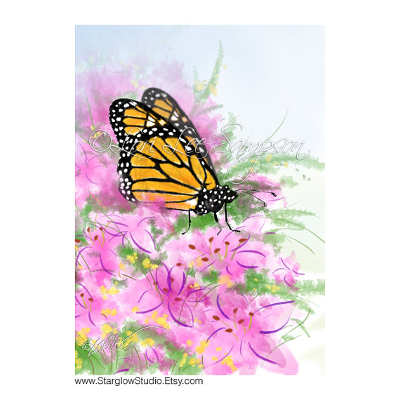Monarch Butterfly clipart nature #6