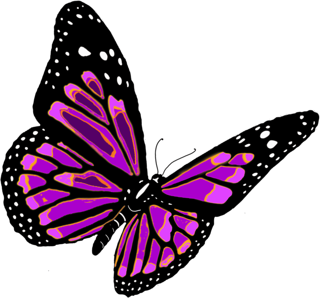 Monarch Butterfly clipart pink Image Butterfly image PNG free