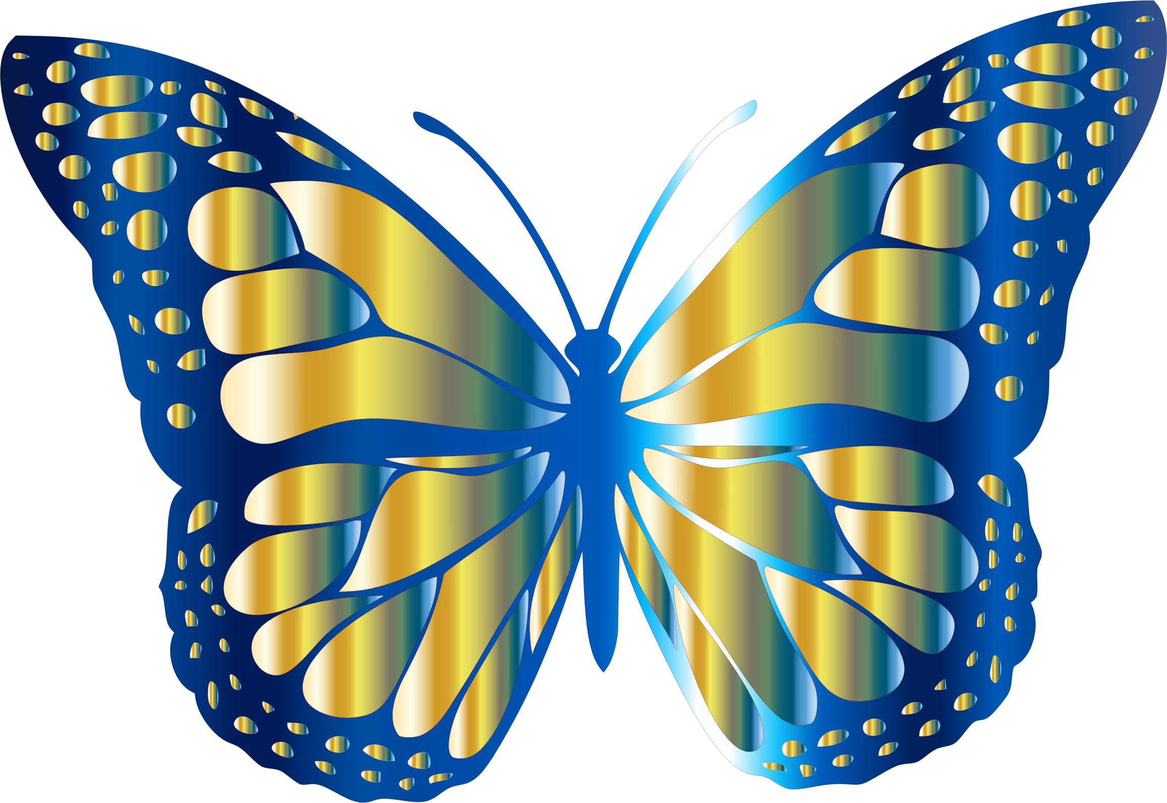 Monarch Butterfly clipart symmetrical Butterfly Clipart Butterfly 11 2