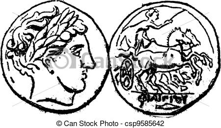 Money clipart ancient greek Ancient csp9585642 Macedonian Ancient of