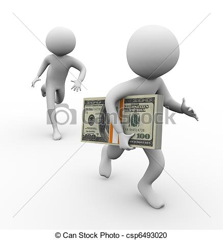 Money clipart child stealing And Images stealing thief stealing