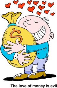 Money clipart greed Of Kids  Korah