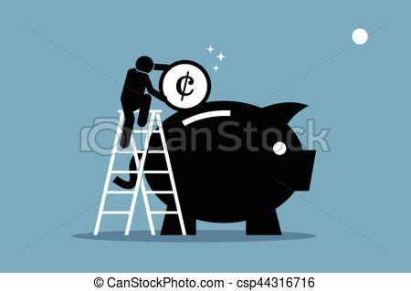 Money Vector Man a Art