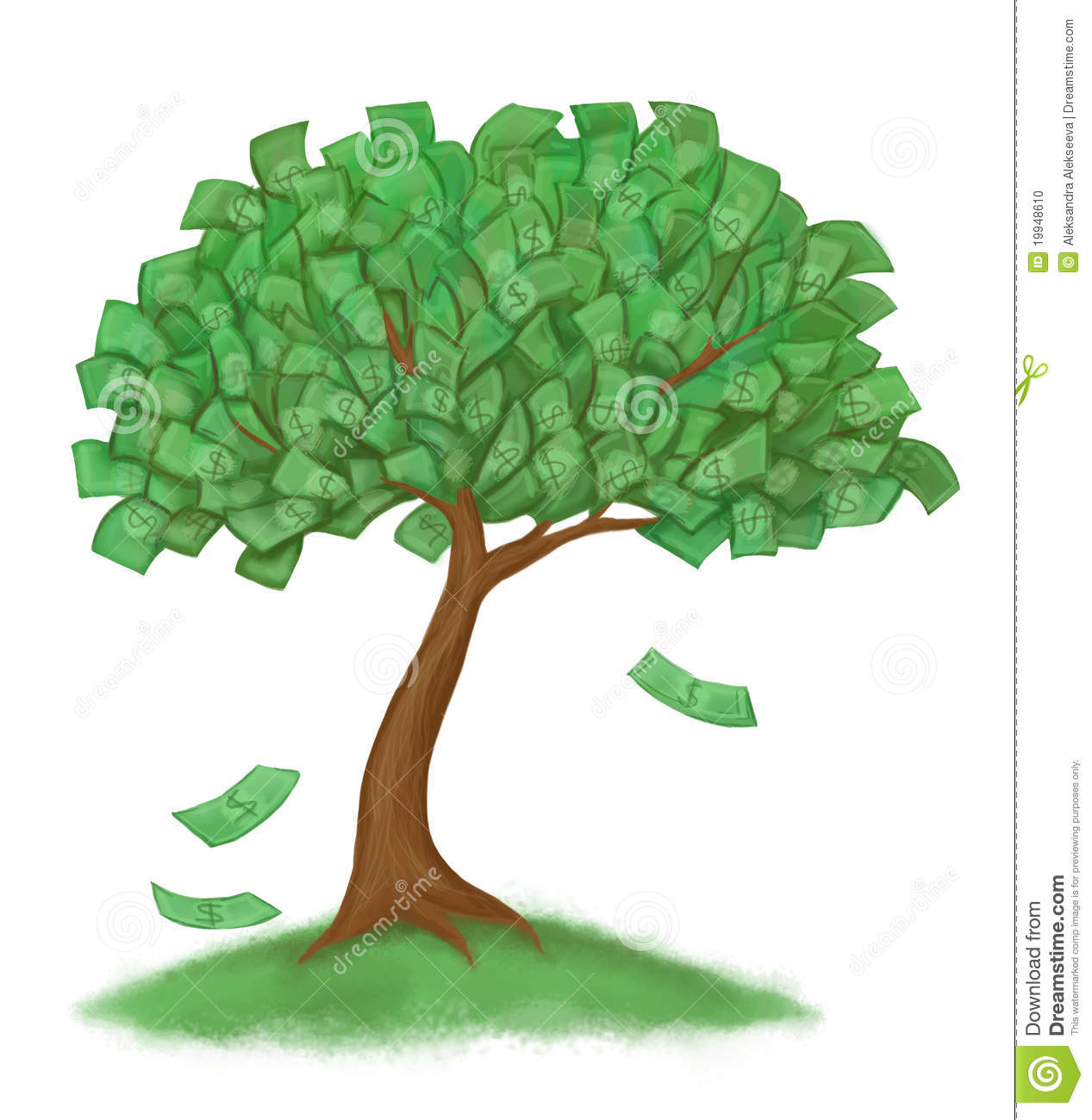 Money clipart money tree Images Tree Money Clipart Collection