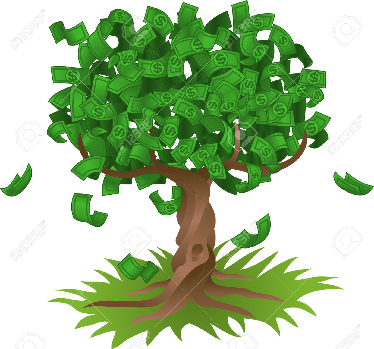 Money clipart money tree Images Tree Clipart Clipart Collection